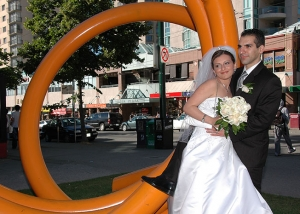 Wedding Day Down Town Digital Dreams