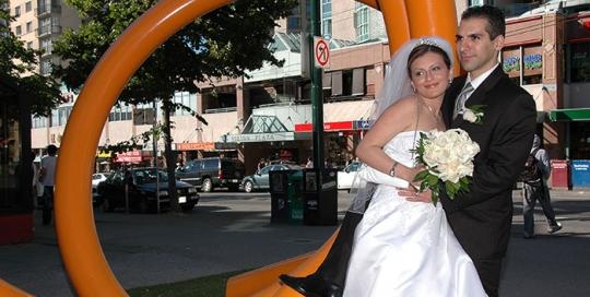 Wedding Day Down Town Digital Dreams